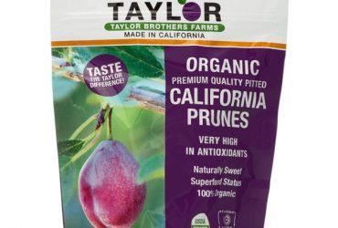 Premium California Organic Prunes