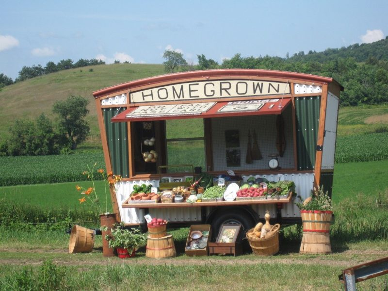 roadside vegetable stand