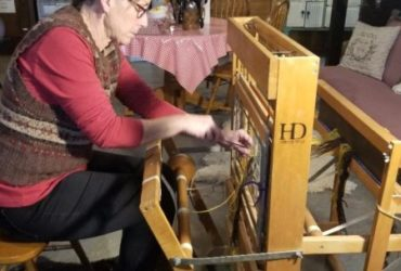 Weaving 301 Retreat on a Harness Floor Loom