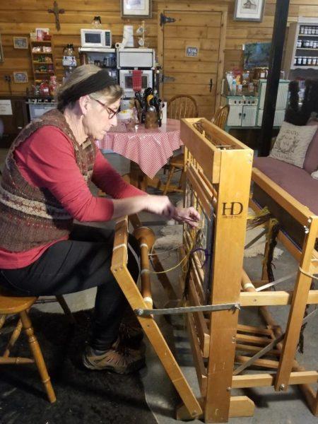 Weaving 301 Retreat on a Harness Floor Loom