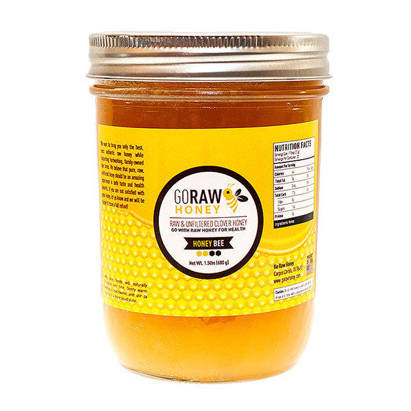 Pure, Natural Raw Honey for sale