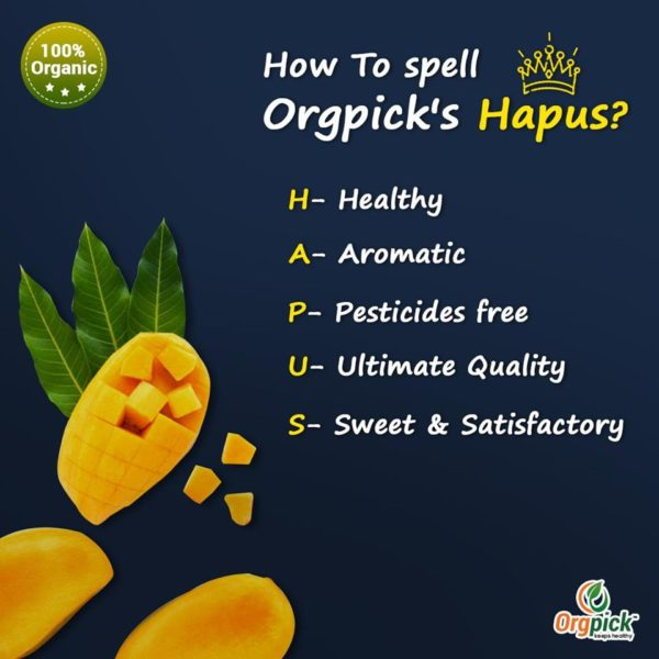 Order Fresh-Organic Alphonso Mango