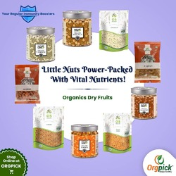 Buy High Quality Healthy Certified Organic Dry Fruits Online