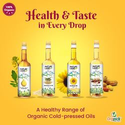 Buy Organic Oils Online in Pune | Cold-Pressed Oils at Orgpick