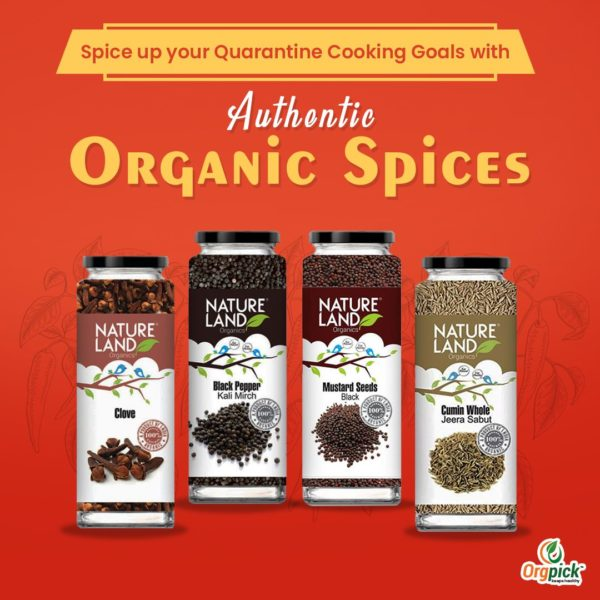 Buy Organic Spices Online At Orgpick