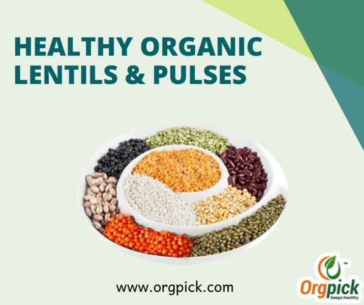 Healthy Organic Lentils and Organic Pulses Online in India