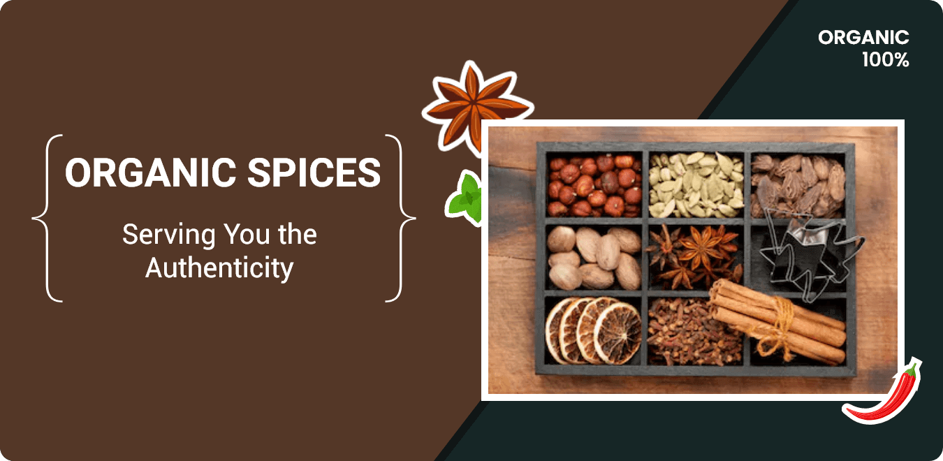 Order Pure Organic Spices & Masalas Online
