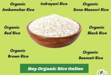Purchase Organic Rice Online at a Low Price at Orgpick