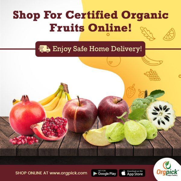 Order Healthy Organic Fruits Online