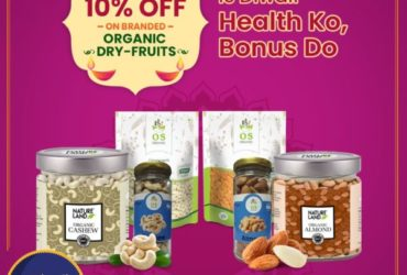Flat 10% Off on Organic DryFruits Online in Pune