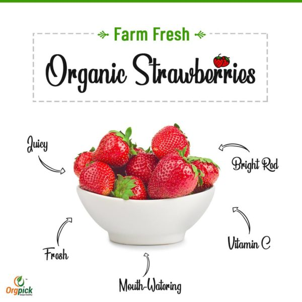 Shop Now Organic Strawberry Online At Orgpick