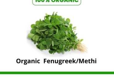 Shop Organic green & fresh fenugreek leaves online.
