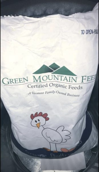 Organic Fed, Free Range Chicken Eggs